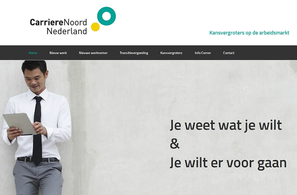 wordpress-website-carriere-noord-nederland