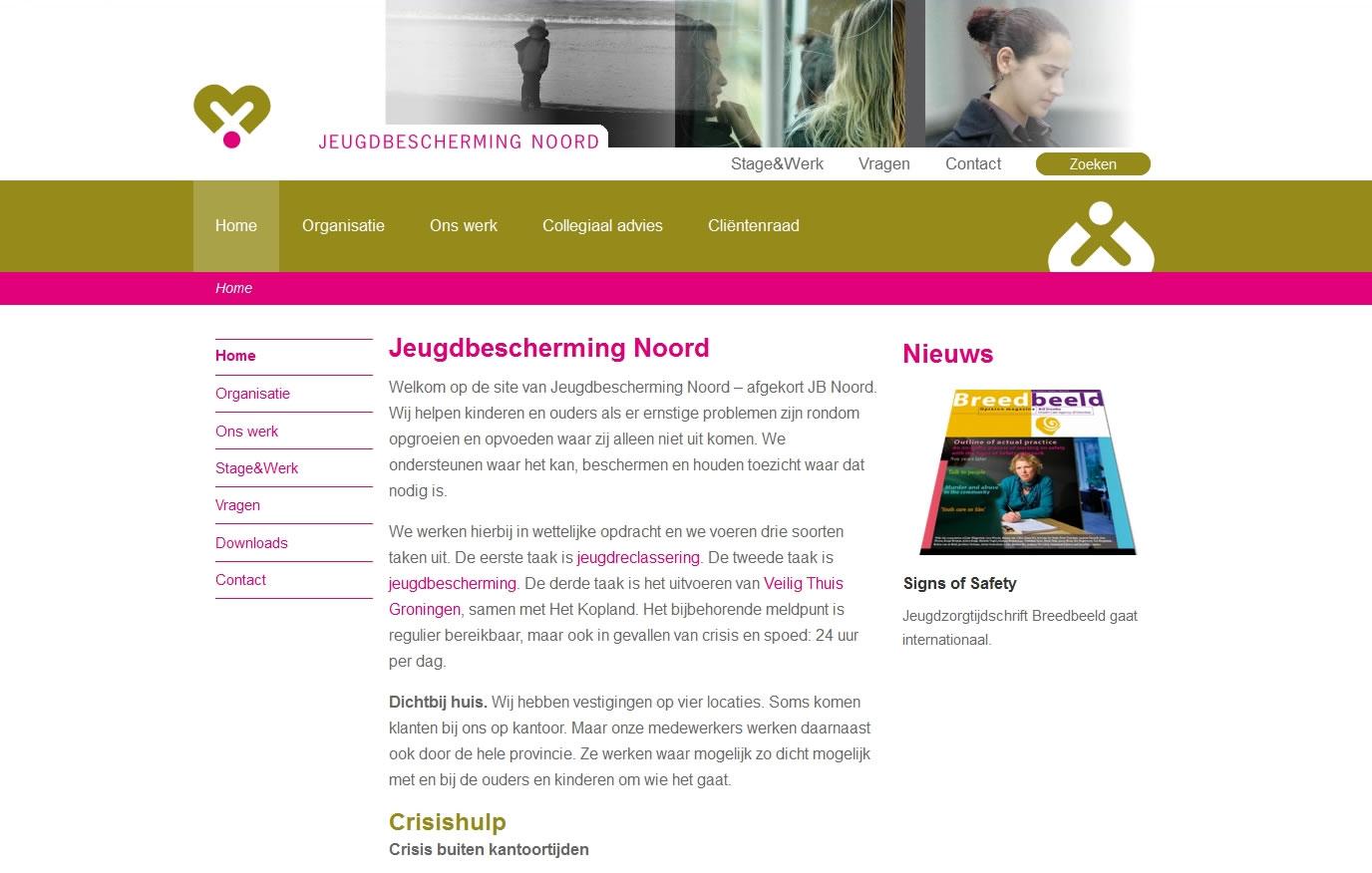 wordpress-website-jeugdbescherming-noord