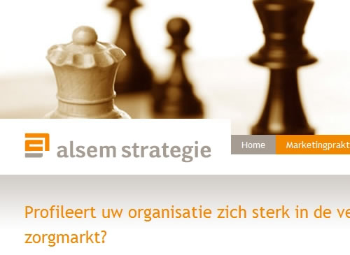 Alsem Strategie – zorgmarketing