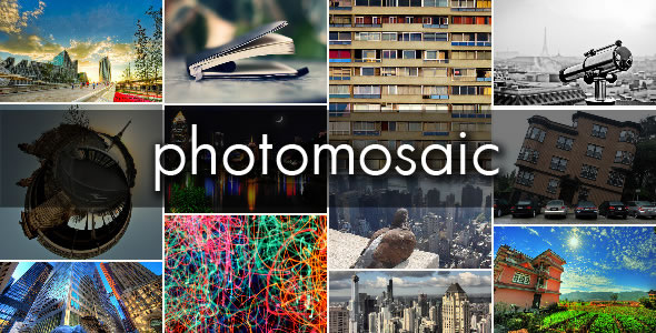 WordPress plugin: PhotoMosaic