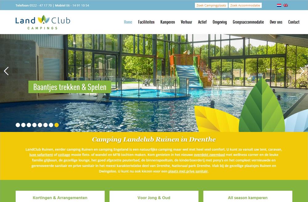Camping Drenthe zwembad