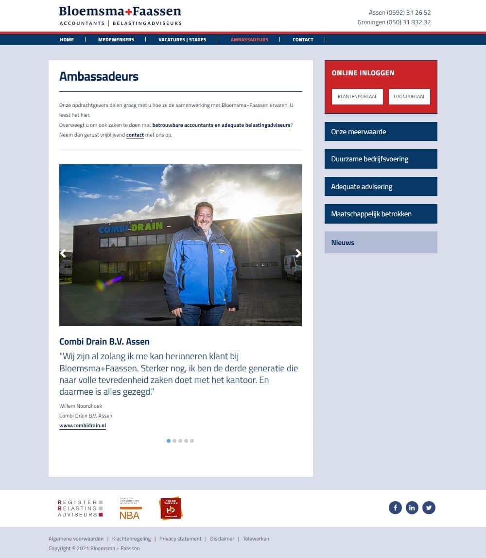 WordPress website Assen